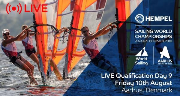 LIVE Sailing | Hempel Sailing World Championships | Qualification Day 9