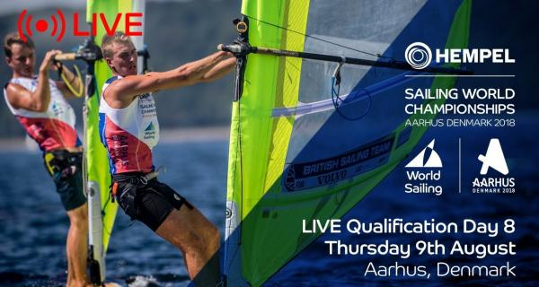 LIVE Sailing | Hempel Sailing World Championships | Qualification Day 8