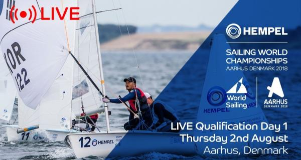 LIVE Sailing | Hempel Sailing World Championships | Qualification Day 1