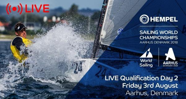 LIVE Sailing | Hempel Sailing World Championships | Qualification Day 2