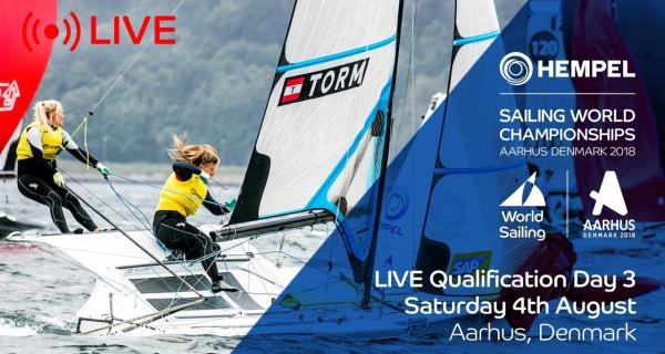 LIVE Sailing | Hempel Sailing World Championships | Qualification Day 3